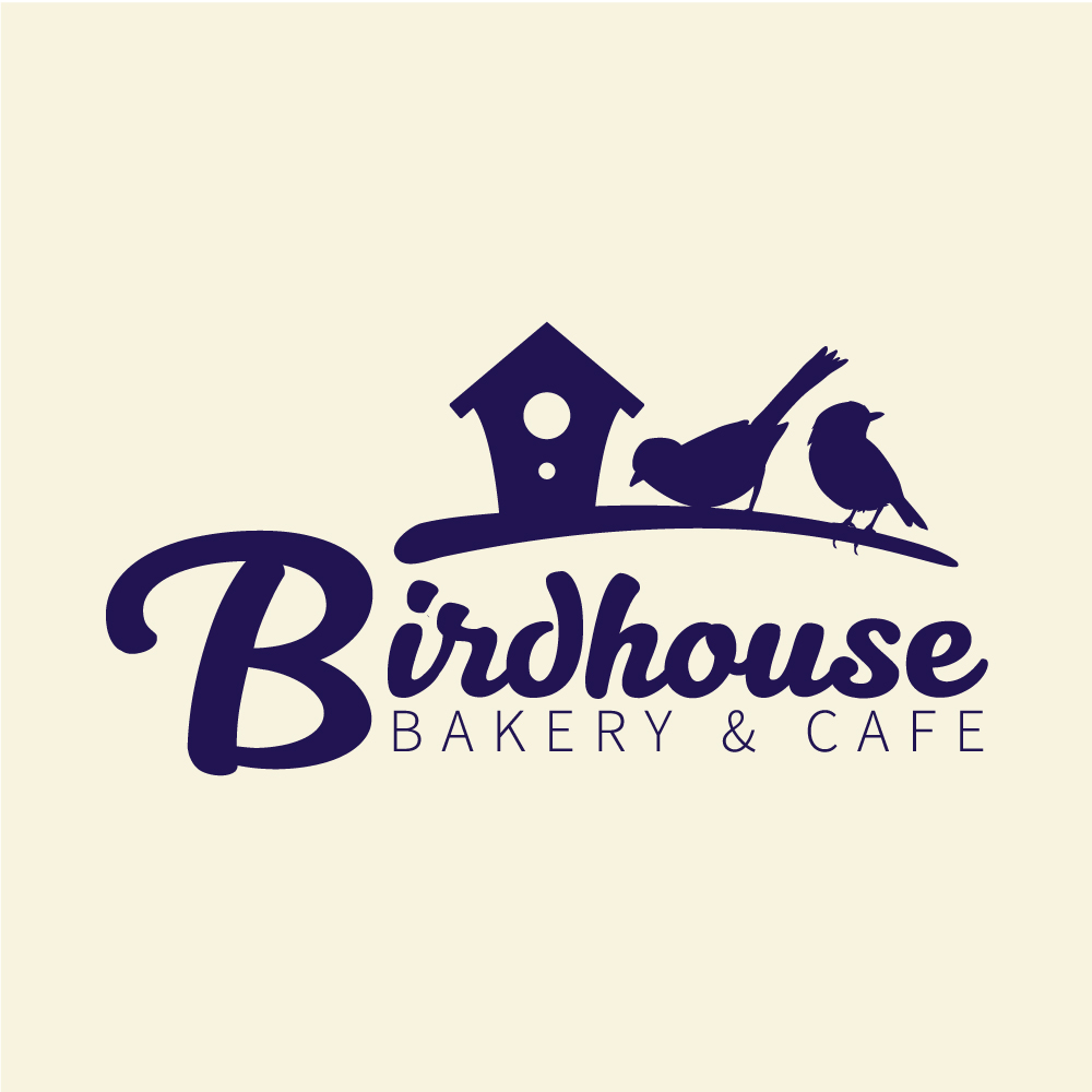 Bakery & Cafe Logo - Birdhouse