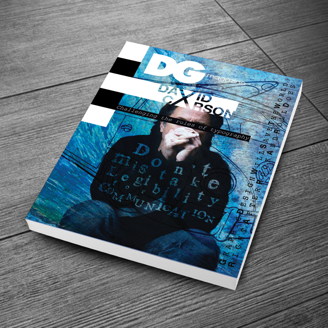DG magazine cover design
