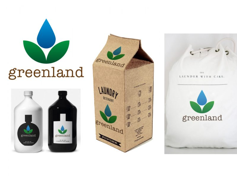 environmentally friendly cleaning product logo